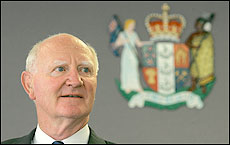 Retired Auckland Family Court Judge Graeme MacCormick